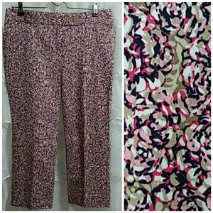 New THE LIMITED Stretchy Cotton Ankle Pants R23